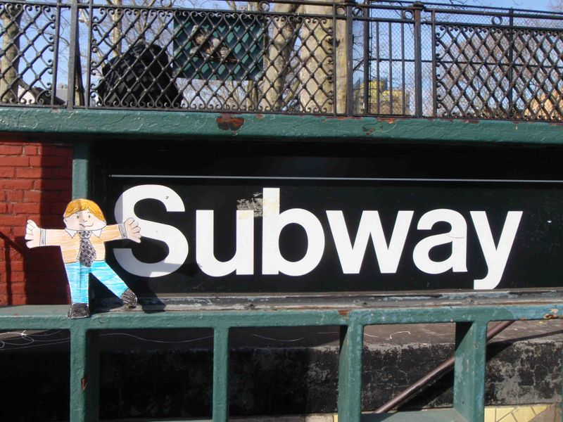 Stanley Rides the Subway