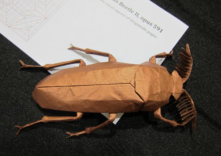 Origami 8 Legged Tarantula Tutorial (Robert Lang) Part 1/2 - YouTube | 509x720