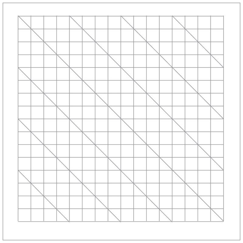 Crease diagram basic folds