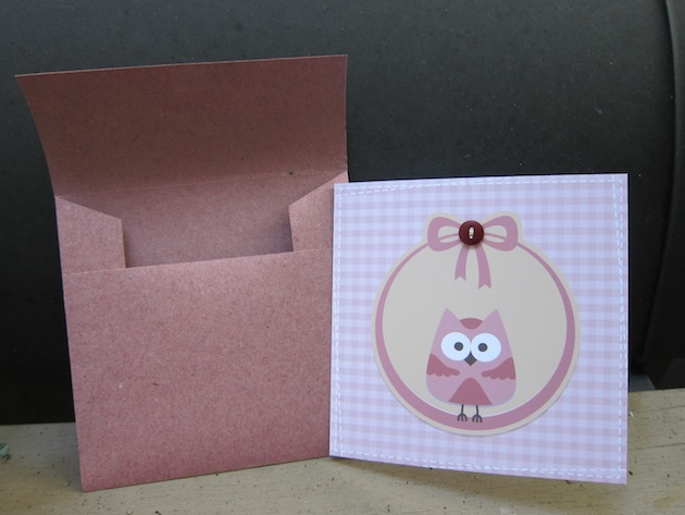 Card and envelope 01