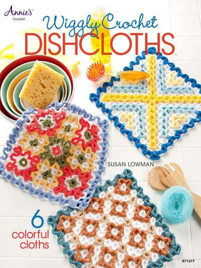 Wiggly Dishcloths Front Cover