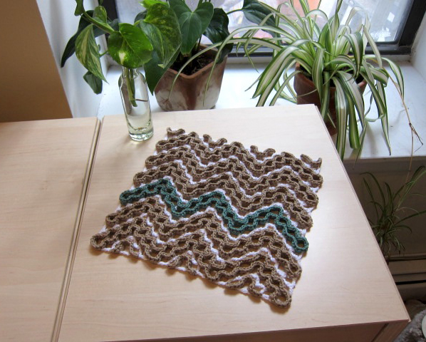 Chevron Dishcloth