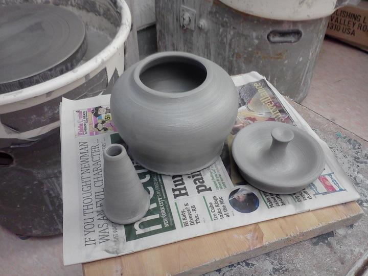 Parts for a teapot
